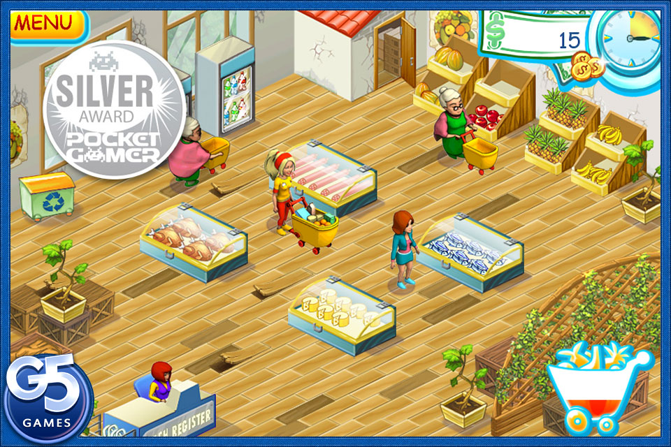Screenshot Supermarket Mania